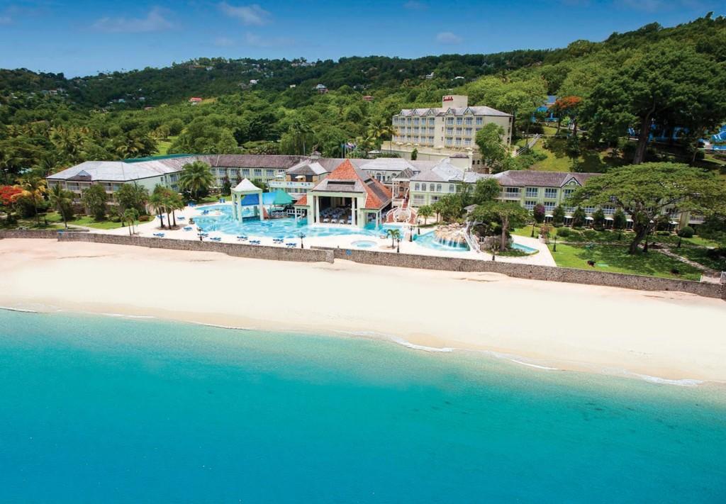 Sposarsi A St Lucia Al Sandals La Toc Spa Beach Resort