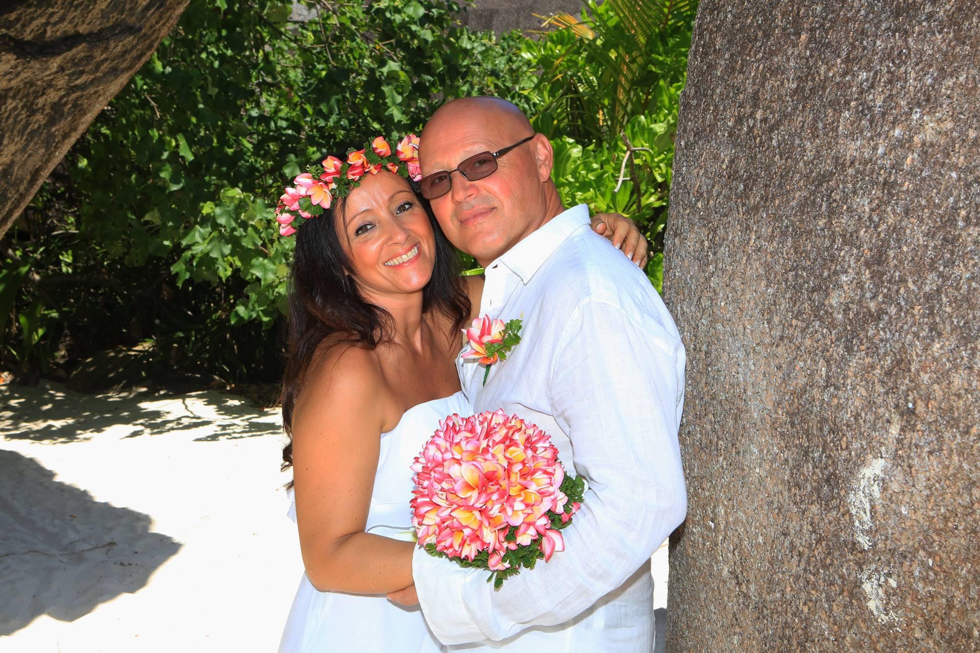 Matrimonio Simbolico Alle Seychelles : Foto matrimonio alle seychelles di rosa e maurizio