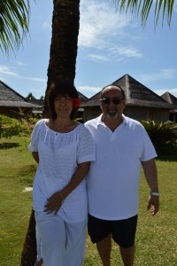 Rosa e Roberto da Bologna, sposi il 22 Aprile 2015 nel Municio di Bora Bora